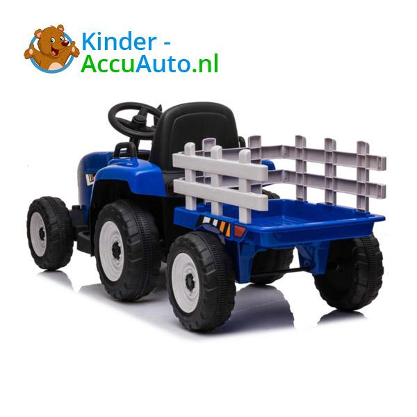 Tractor Trailer Blauw Kindertractor 7