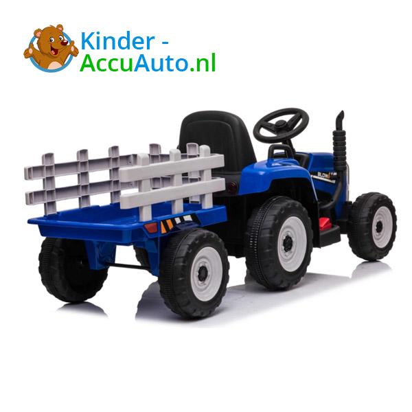 Tractor Trailer Blauw Kindertractor 8