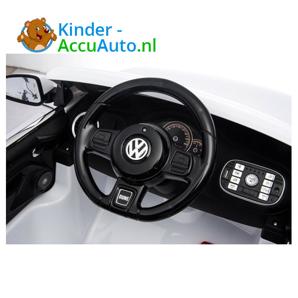Volkswagen Dune Beetle Kinderauto Wit 10