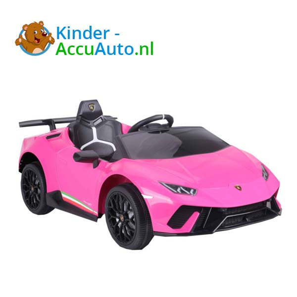 lamborghini huracan roze kinderauto 1