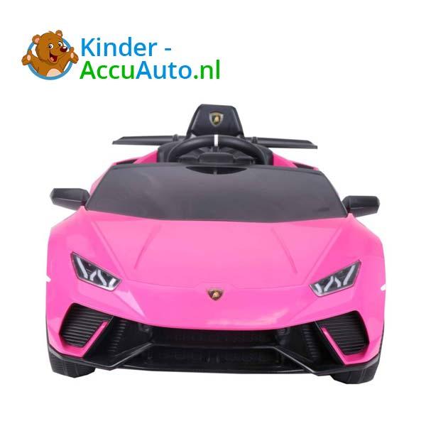Lamborghini Huracan Roze Kinderauto 2