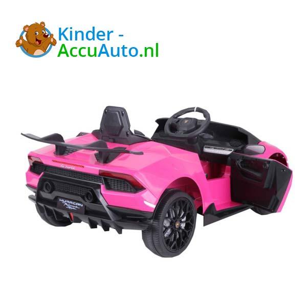 Lamborghini Huracan Roze Kinderauto 4
