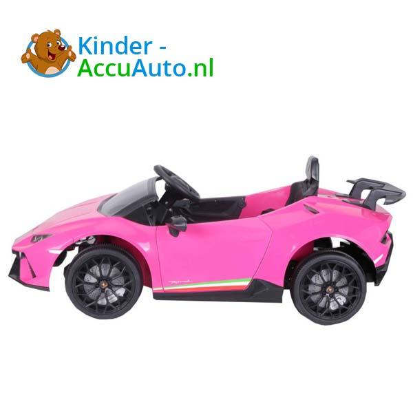 Lamborghini Huracan Roze Kinderauto 5