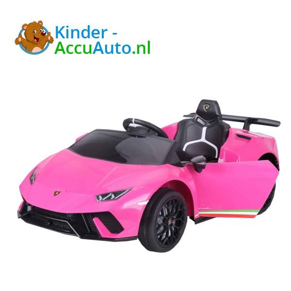 Lamborghini Huracan Roze Kinderauto 6