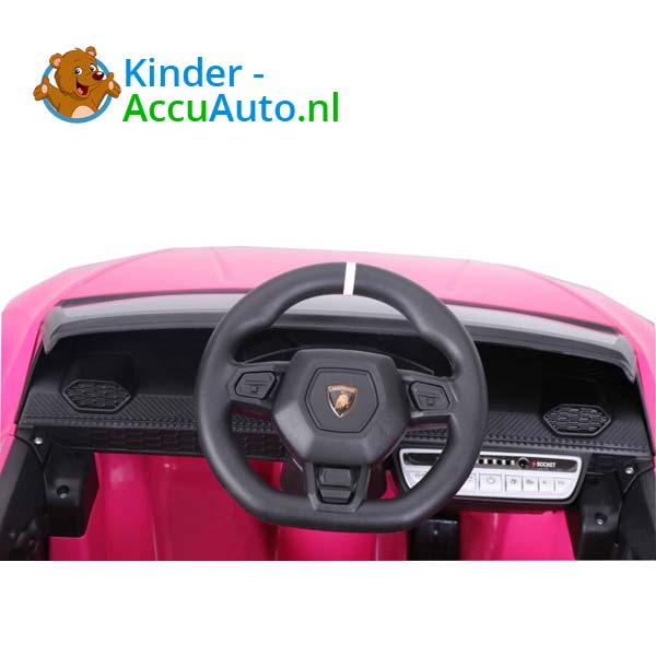Lamborghini Huracan Roze Kinderauto 7