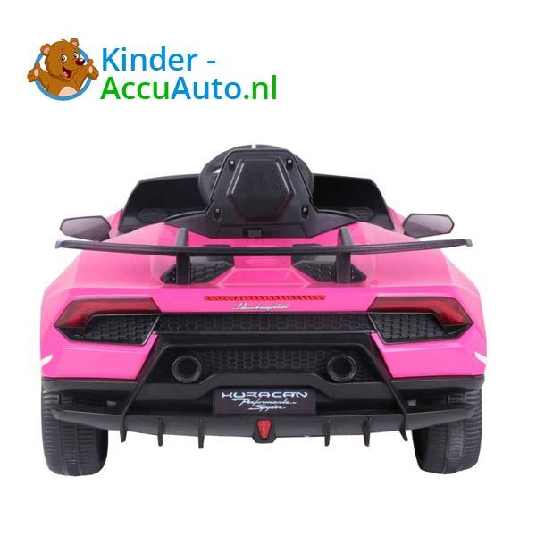 Lamborghini Huracan Roze Kinderauto 9