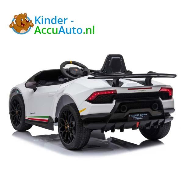 Lamborghini Huracan Wit Kinderauto 2