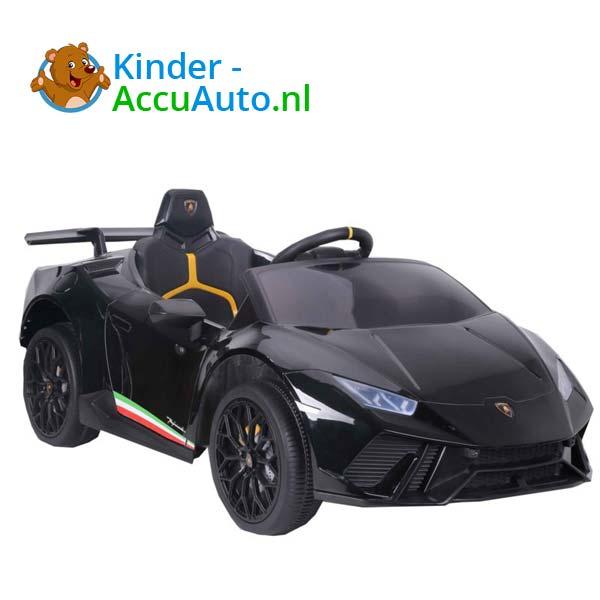 Lamborghini Huracan Zwart Kinderauto 1