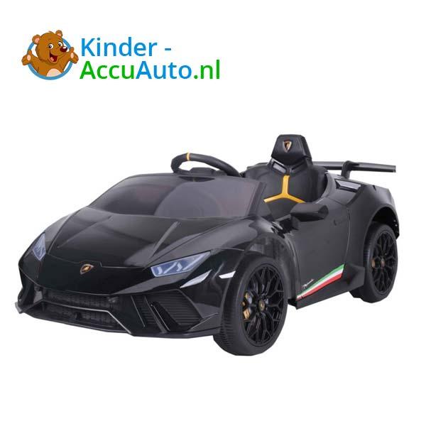 Lamborghini Huracan Zwart Kinderauto 3