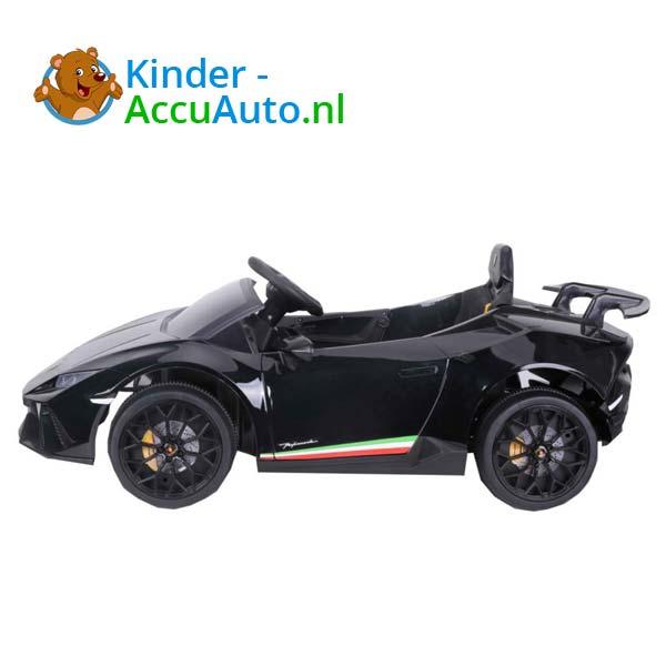 Lamborghini Huracan Zwart Kinderauto 4