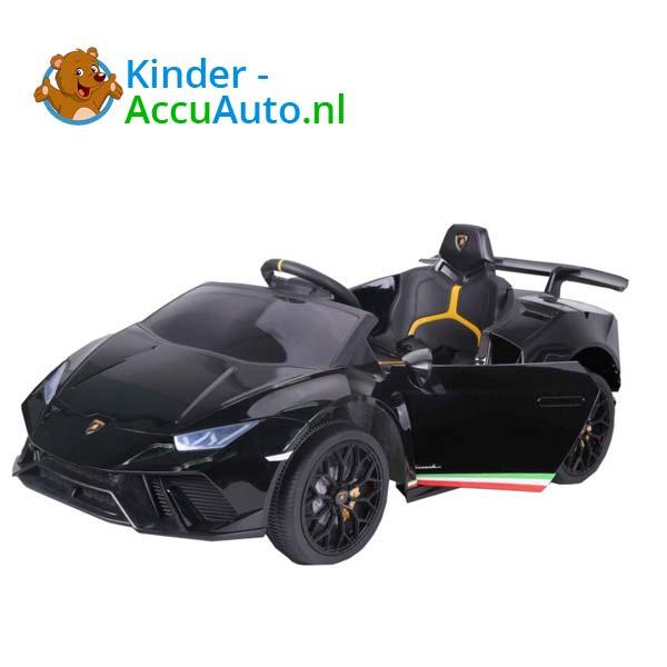 Lamborghini Huracan Zwart Kinderauto 5
