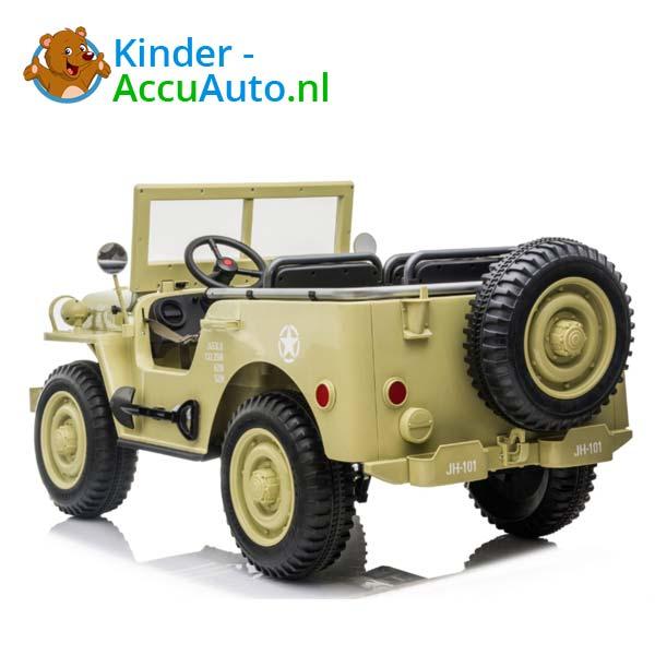 Jeep Desert Fox Beige Kinderauto 4WD 2