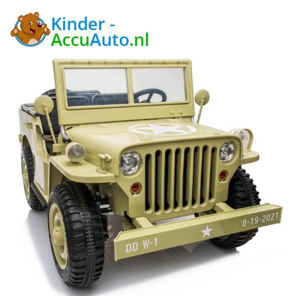 Jeep Desert Fox Beige Kinderauto 4WD 3
