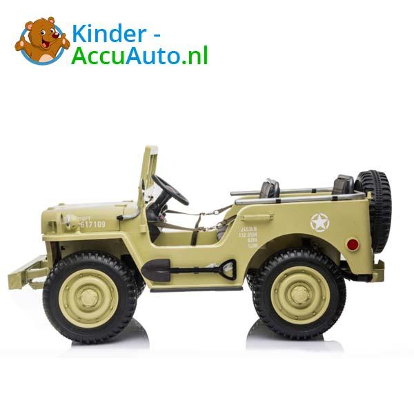 Jeep Desert Fox Beige Kinderauto 4WD 4