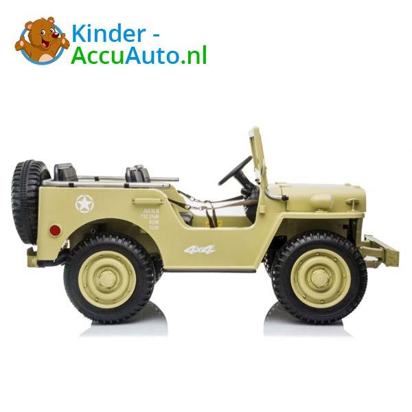 Jeep Desert Fox Beige Kinderauto 4WD 5