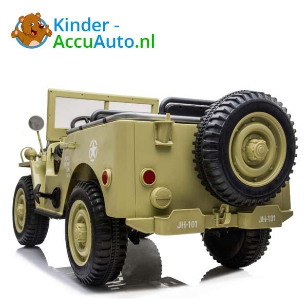 Jeep Desert Fox Beige Kinderauto 4WD 6
