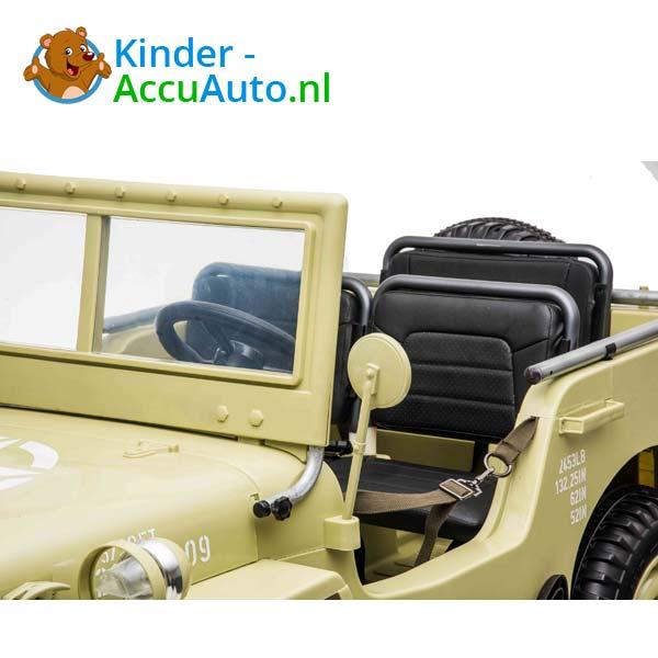 Jeep Desert Fox Beige Kinderauto 4WD 7