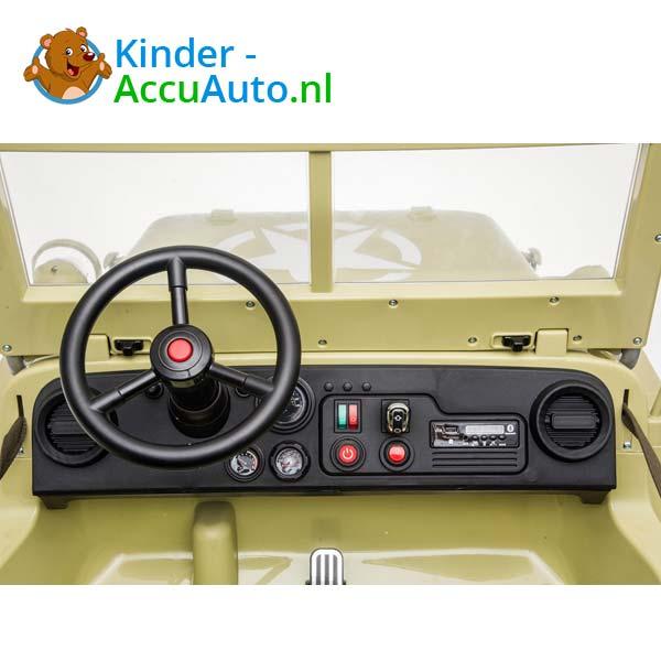 Jeep Desert Fox Beige Kinderauto 4WD 8