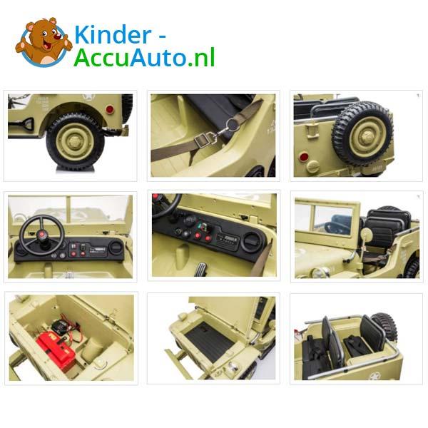 Jeep Desert Fox Beige Kinderauto 4WD 9