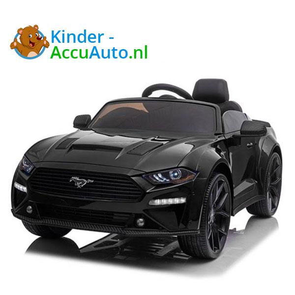 elektrische ford mustang kinderauto 24v zwart 1
