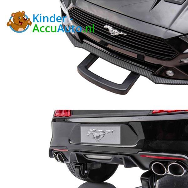 elektrische ford mustang kinderauto 24v zwart 10