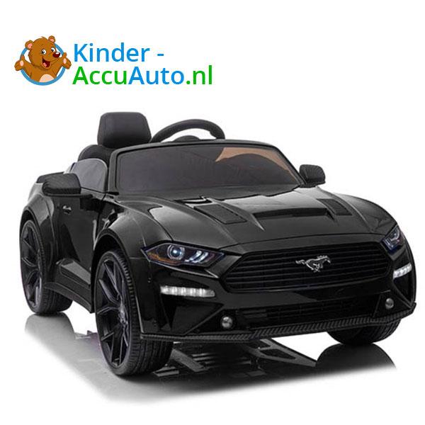 elektrische ford mustang kinderauto 24v zwart 3