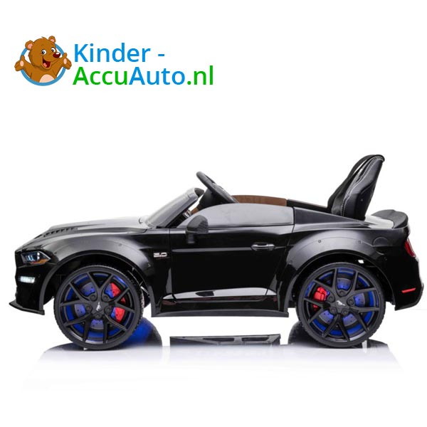 elektrische ford mustang kinderauto 24v zwart 5