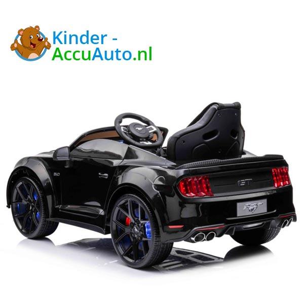 elektrische ford mustang kinderauto 24v zwart 6