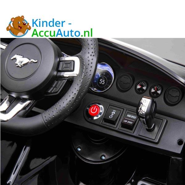 elektrische ford mustang kinderauto 24v zwart 7