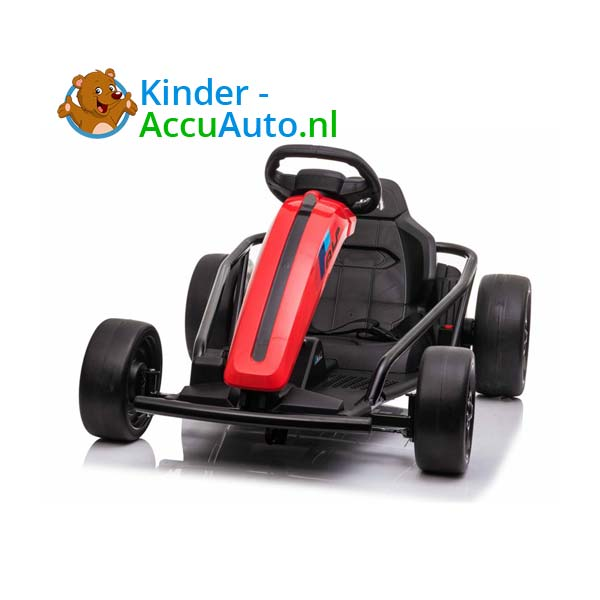 elektrische drift cart rood kinderauto 2