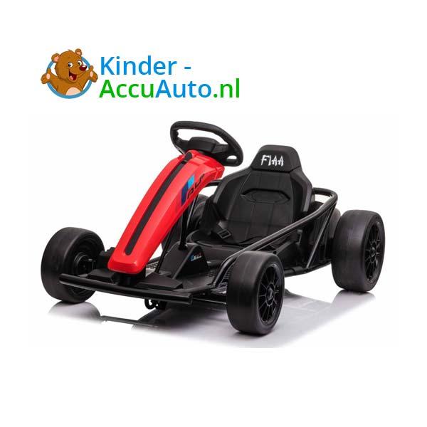 elektrische drift cart rood kinderauto 3