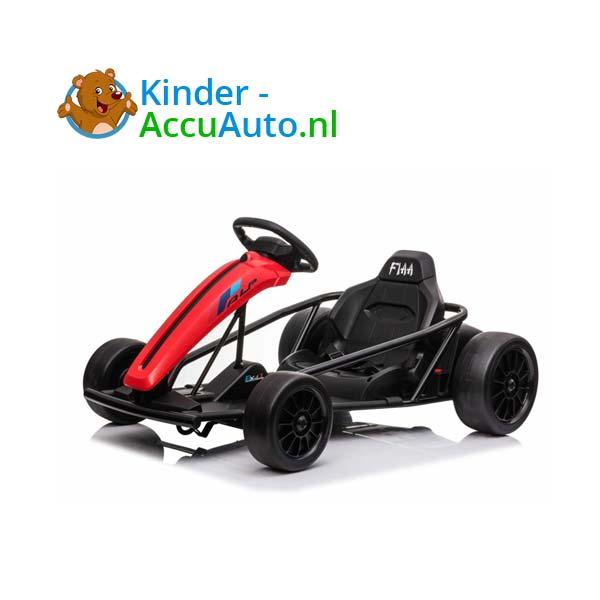 elektrische drift cart rood kinderauto 4