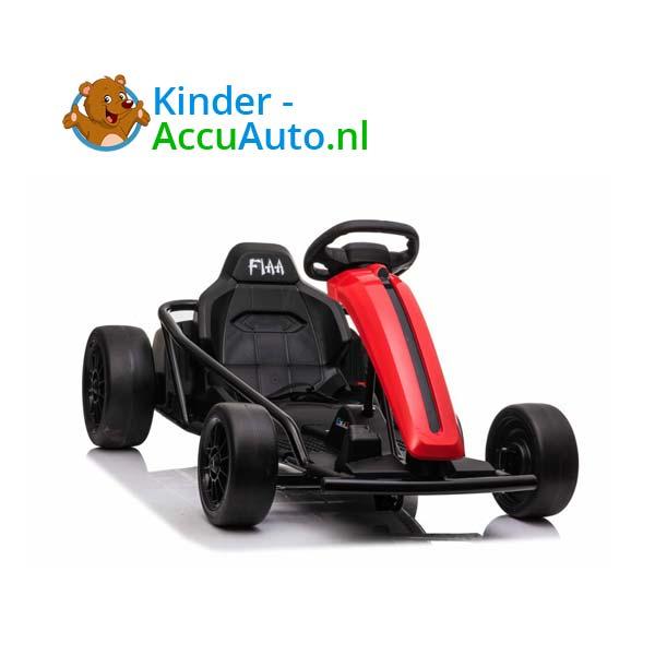 elektrische drift cart rood kinderauto 8