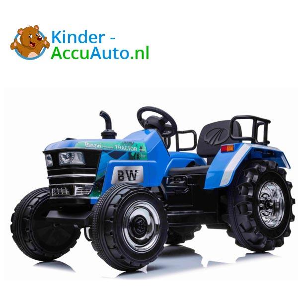 Elektrische kindertractor Blazin Wheels 12v blauw 1