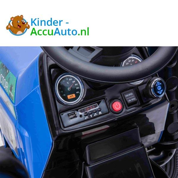 elektrische kindertractor blazin wheels 12v blauw 10
