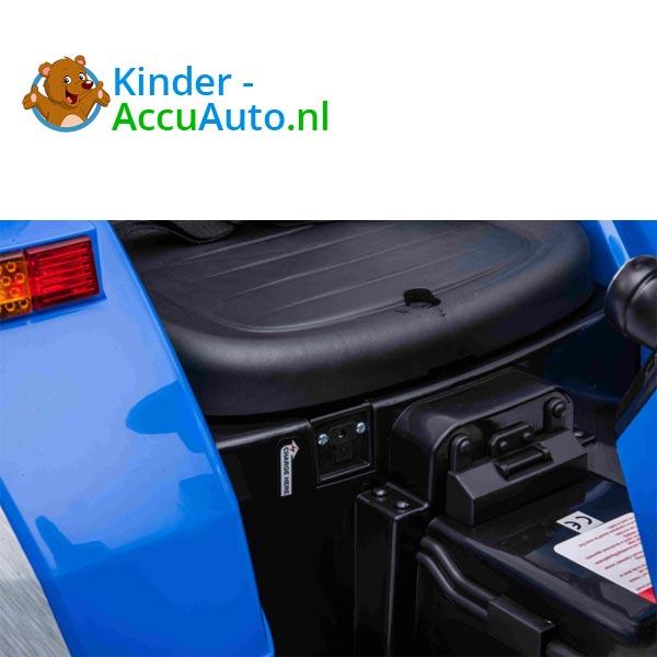 elektrische kindertractor blazin wheels 12v blauw 11