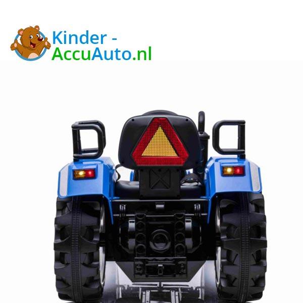 elektrische kindertractor blazin wheels 12v blauw 12