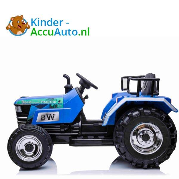 elektrische kindertractor blazin wheels 12v blauw 2