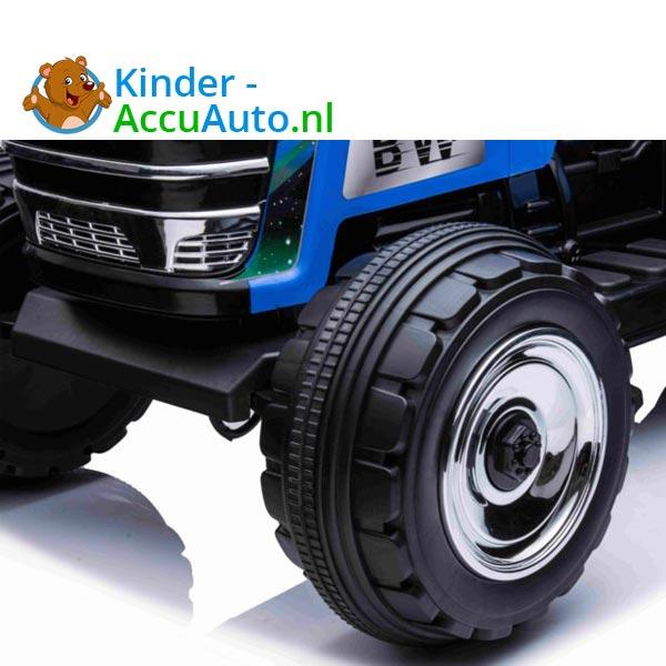 elektrische kindertractor blazin wheels 12v blauw 8