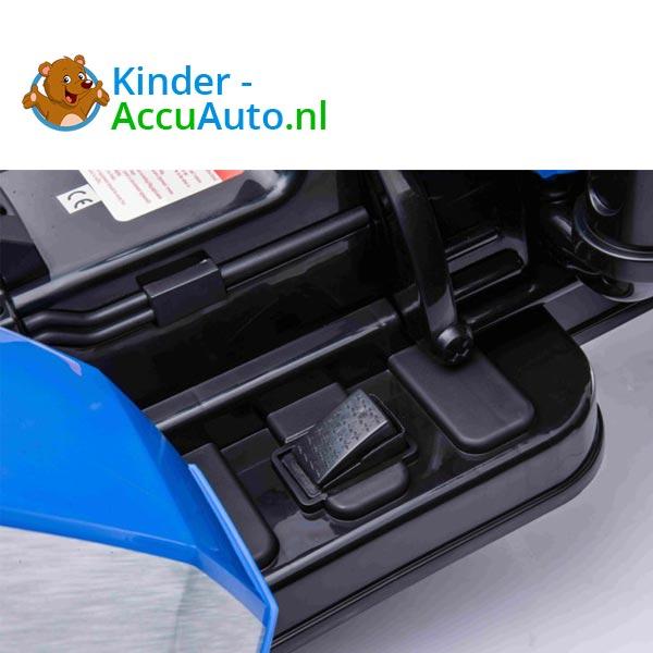 elektrische kindertractor blazin wheels 12v blauw 9