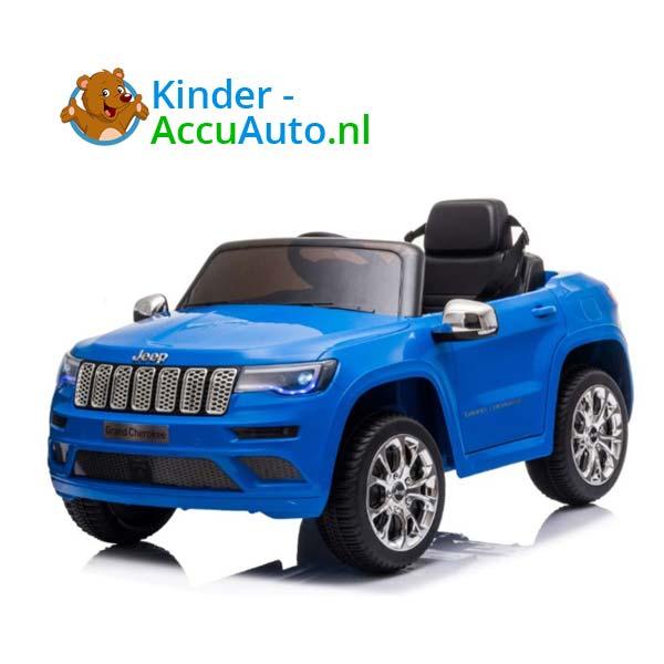 Jeep Grand Cherokee Blauw Kinderauto 1