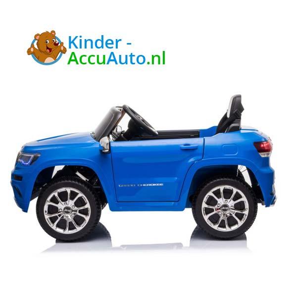 Jeep Grand Cherokee Blauw Kinderauto 2