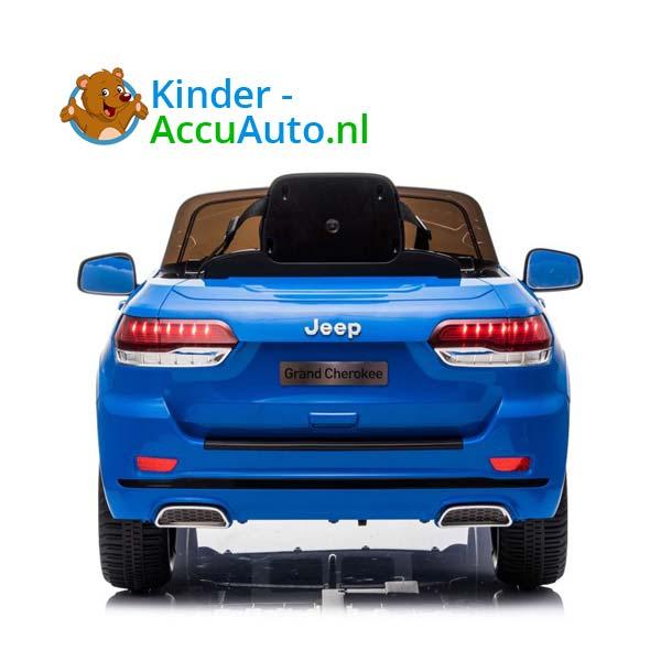Jeep Grand Cherokee Blauw Kinderauto 3