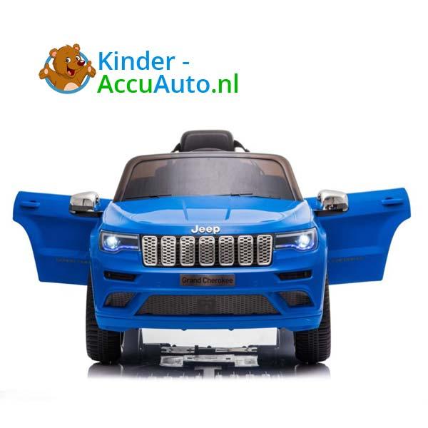 Jeep Grand Cherokee Blauw Kinderauto 4