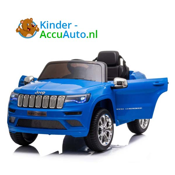 Jeep Grand Cherokee Blauw Kinderauto 5
