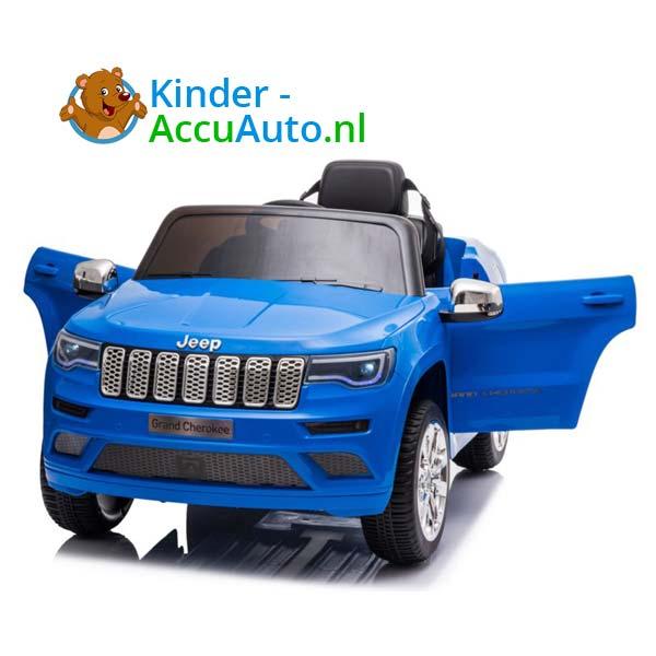 Jeep Grand Cherokee Blauw Kinderauto 8