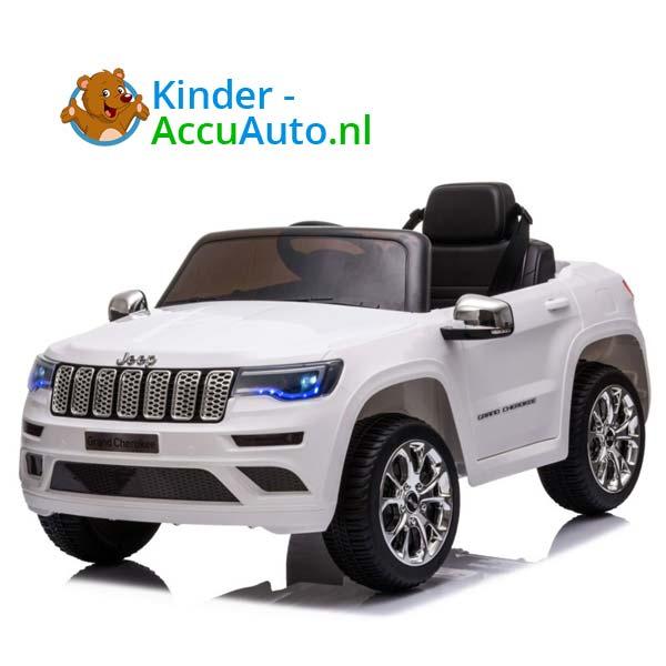 Jeep Grand Cherokee Wit Kinderauto 1