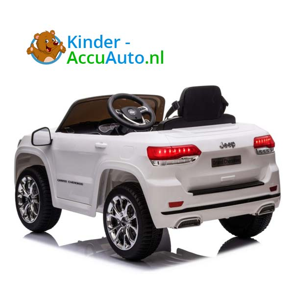 Jeep Grand Cherokee Wit Kinderauto 3