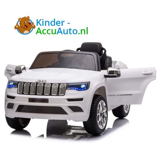 Jeep Grand Cherokee Wit Kinderauto 5