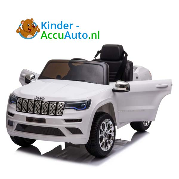 Jeep Grand Cherokee Wit Kinderauto 7